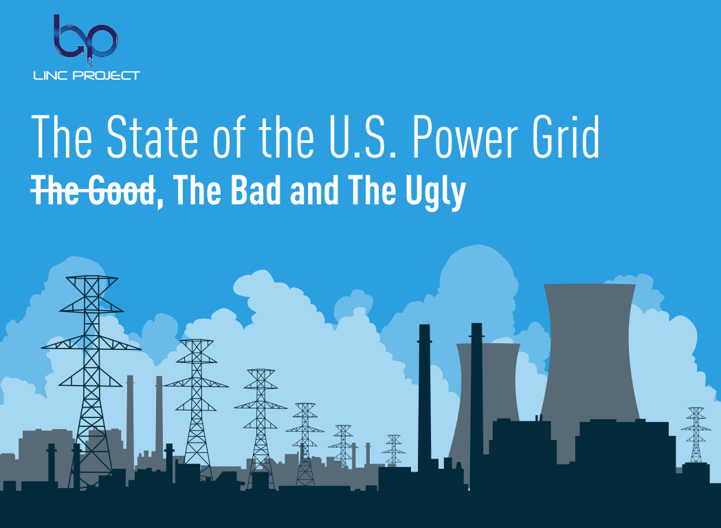 the state of the US power grid infographic